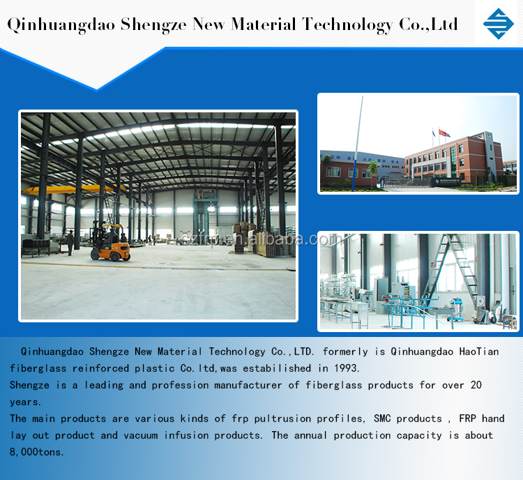 FRP production Special shape, Glass Fiber Reinforced Polymer Pultruded FRP Profiles for Construction