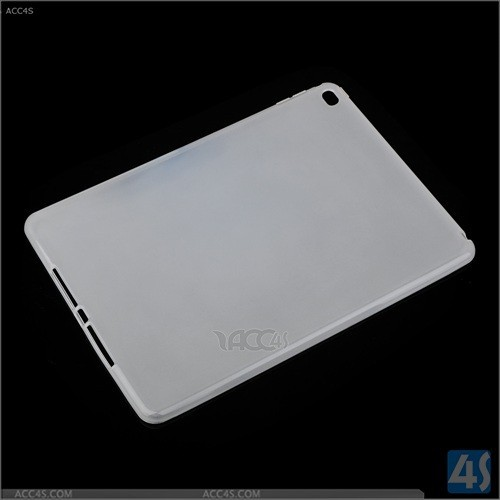 China factory supply in stock new jelly tpu soft gel back case skin cover for ipad air 2, for ipad air2 case