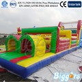 Kids And Adults Inflatable Sports Games Outdoor Onstacle Course For Sale