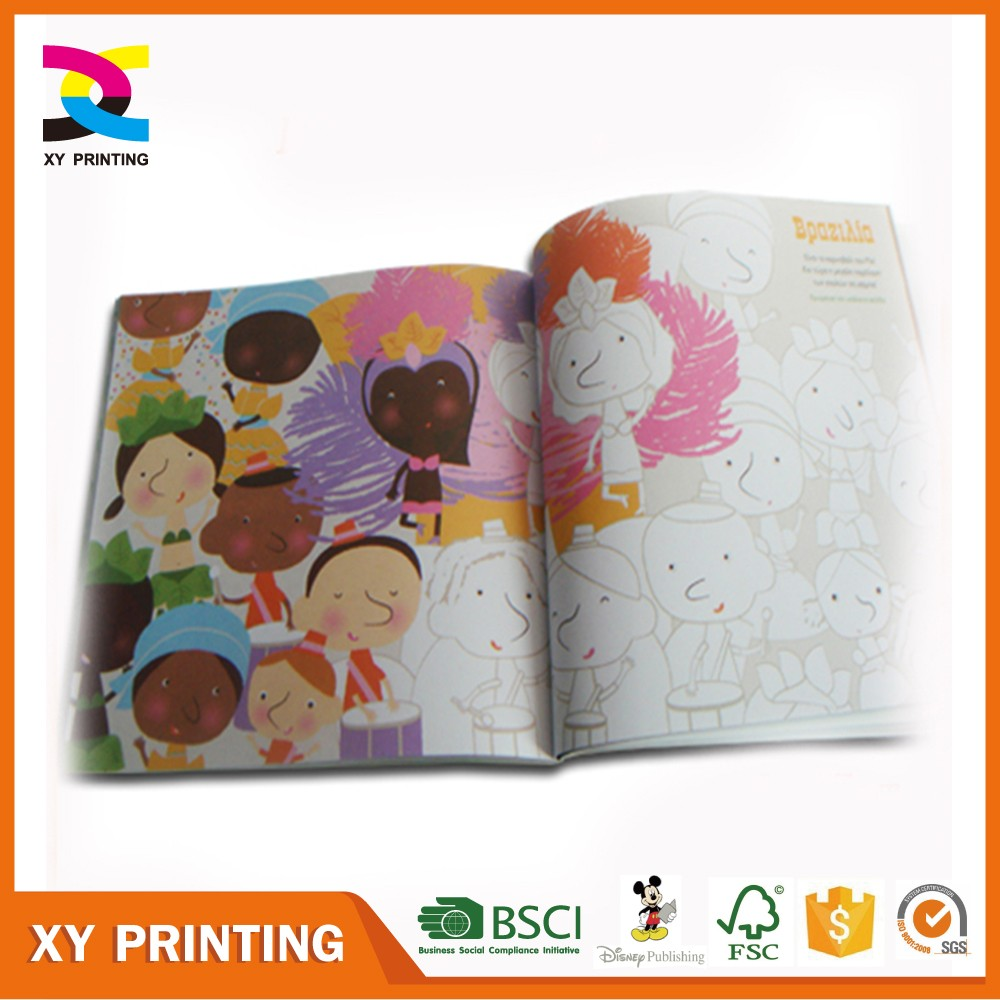 Printing Small Kids Fashion design children drawing book