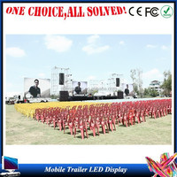 manufacture stage floor led display P6,P8,P10,P12,P16 p5 video wall for moving mobile truck and trailer