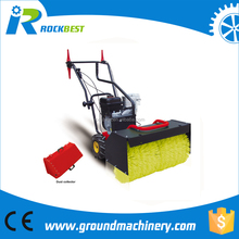 gas powered snow sweeper
