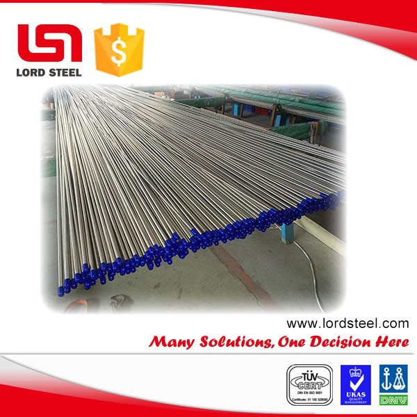 4mm astm a 213 t2 high quality seamless stainless alloy steel pipe price per meter