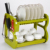 kitchen accessories Cabinet Plate Holder Dish Drainer Rack In Plastic