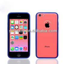 Ultra thin transparent soft for iphone 5c protect case