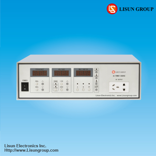 LSP-500VAR Programable AC Power Output Power at 500W/1000W/2000W with High Accuracy and High Stability