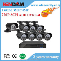 8CH CCTV Security System 8 channel 1080N AHD DVR 800TVL outdoor bullet Camera kit Video Surveillance System for AHD camera