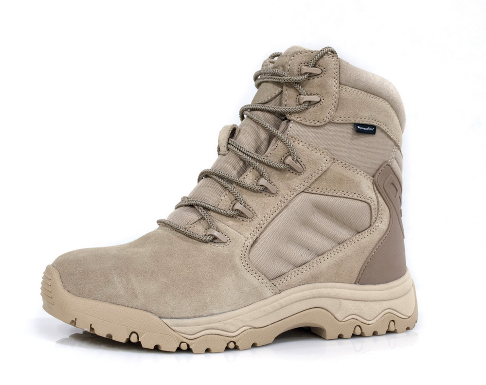 Mid cut lace-up suede leather desert combat boot zapatillas deporte military boot
