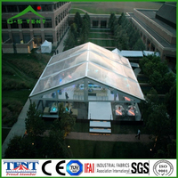 clear party transparent tent for bar in china