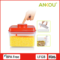 Multi-fuction Food Grade Plastic AS Material Airtight Container Home Used Storage Container