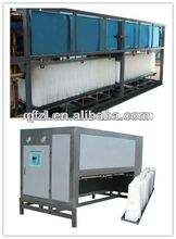 Air cooled containerized ice block making machine