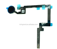 Black Color For Ipad Mini 3 Home Button With Flex Cable Assembly Replacement