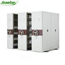 Library Book Cupboard /Mobile Storage System /Storage Metal Mobile Shelf
