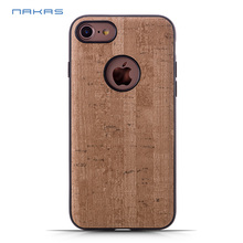 Colorful bamboo wooden anti gravity phone case for iphone