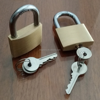 20mm 75mm Heavy Type Brass Padlock