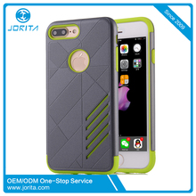 New Arrival 2 in 1 TPU PC Cover shockproof dirtproof dropshipping phone case for i phone 7 plus
