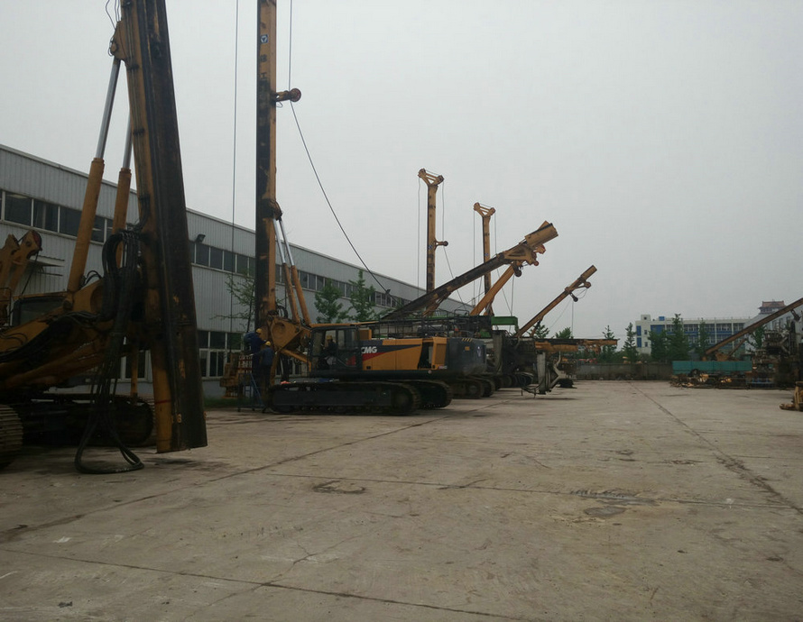Used XCMG rotary XR150C XR150D XR220D XR280C made in china cable tool drilling rig for sale