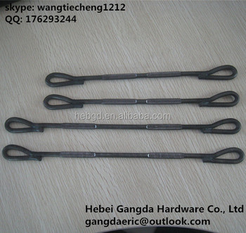 construction hardware standard loop ties for steel plywood form system