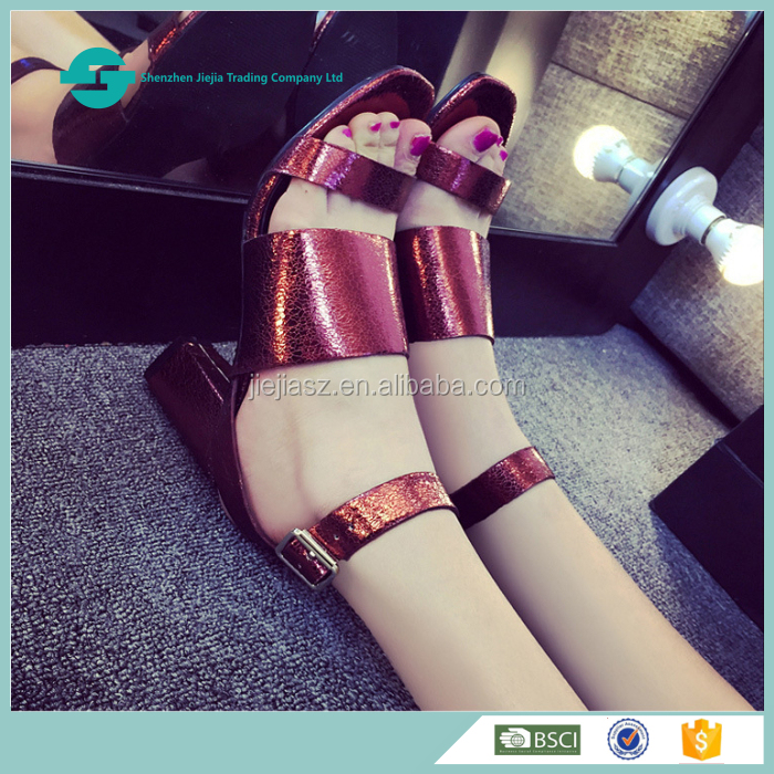 New Model stylish summer lades shoes women sandals