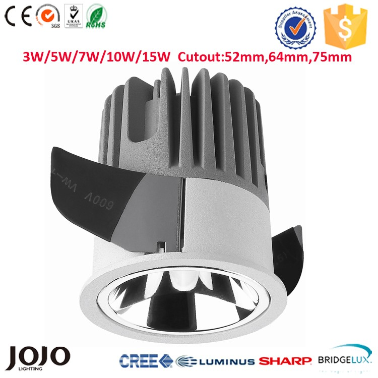 5W small beam angle led down light