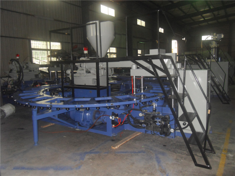 PVC flipflop making machine (1/2 color)