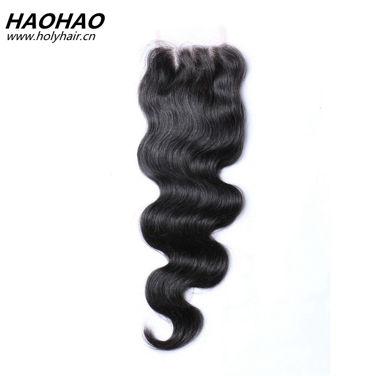 wholesale top quality lace closure for white women brazilian hair bundles with closure