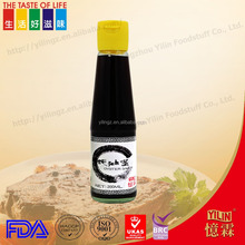 FDA glass bottle packing oyster sauce made in chinese factory