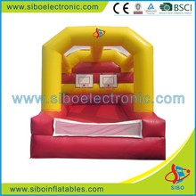 GMIF6423 inflatable bouncy with basketball hoop shooting games for kids