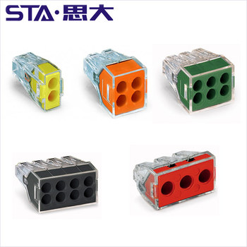 773 102 104 106 108 173 Push-wire connectors for junction boxes Wire Connector 600 V wall nuts connector