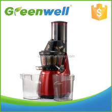 Greenwell 1 hot sale 10 year motor quality guarantee big mouth slow juicer, slow juice big mouth