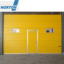 Factory Directly Sell High Quality Automatic Industrial Door with Pedestrian Door