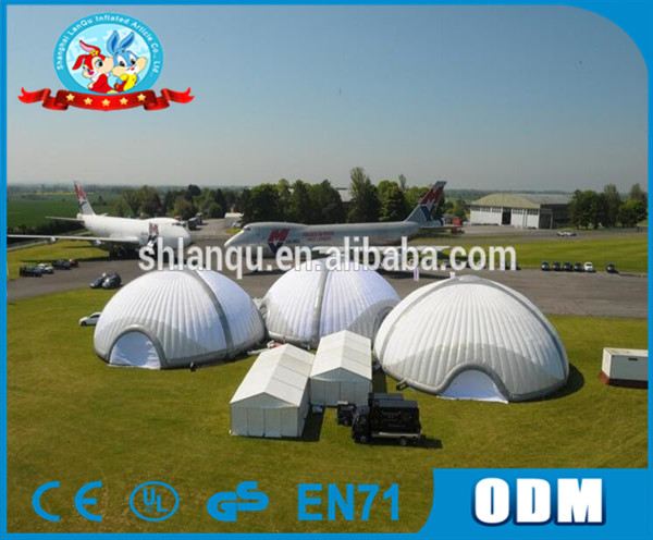 gaint outdoor inflatable dome tent white wedding tent