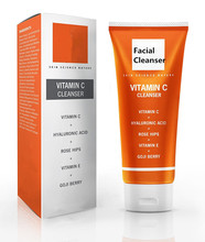 Facial Cleanser Contains Powerful Vitamin C