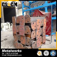 Hot Dip Galvanized Steel Structural Fabrication Projects