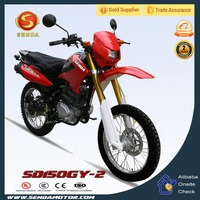 New Cheap Chongqing 150CC Pit Dirt Bike with Golden Absorber for Adults SD150GY-2