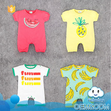 China guangzhou romper baby onesie clothes new style clothes plain white baby rompers bodysuit