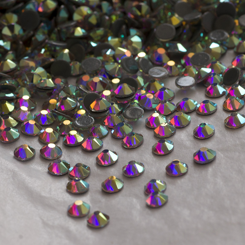 Bulk 2088 crystal AB rhinestones hotfix for dance wear and decoration