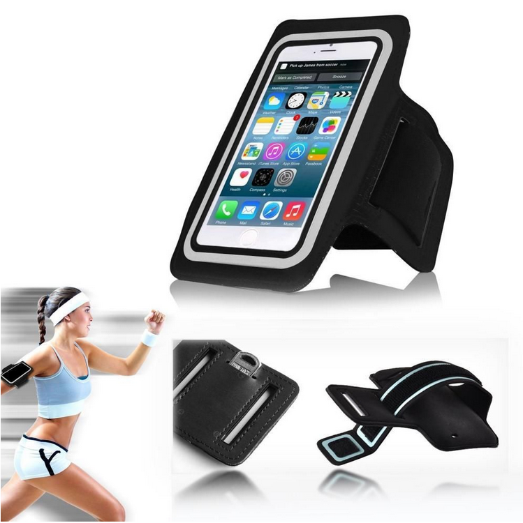 Sport Armband Cellphone as Mobile Phone Bag and Case Armband Size for iPhone 7 and for iPhone 7 Plus