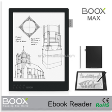 best quality 13.3 inch ereader china manufacturer carta screen ereader epaper ebook reading eink tablet reader