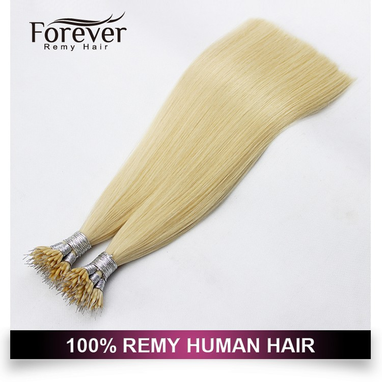 Forever Hair 100 Human Double Drawn European Russian Curly Nano