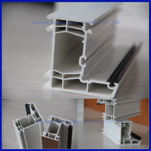 Plastic extrusion companies custom PVC/UPVC profile for windows and doors