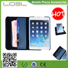 2016 hot selling 360 Degree Rotating Standing Protect Leather Case Cover For iPad mini 2.3.4 leather Case