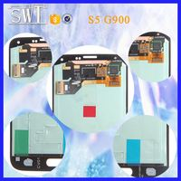 Hot sale lcd monitor spare parts for samsung s5 lcd in alibaba