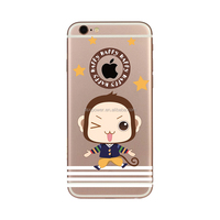 Cheap Mobile Phone Case 3D relief printing case for Lenovo S820 Funky monkey cover for Apple phone 6 6s plus SE