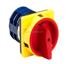 High voltage LW26GS 20A 4P rotary selector switch on off 4 position from Chinese supplier