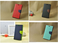 With Standing Function Leather Cover Wallet Protective Flip Case for Meizu MX1 MX2 MX3