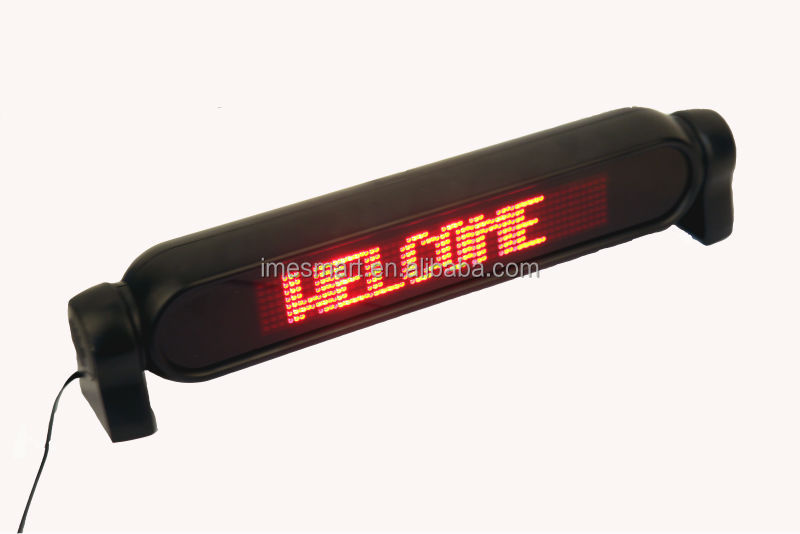 led scrolling messages display board