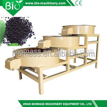 Organic fertilizer granulator for ball fertilizer making machine