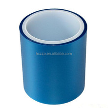 blue color Low Tack Protection Tape PE protect film