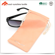 Promotional Hot Stamping Logo Microfiber Sunglasses Pouch